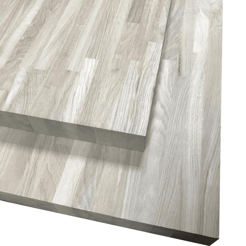 Мебельный щит из дуба ( узкая ламель ) Паркетной склейки