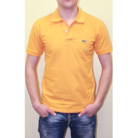 Мужское поло оранжевое Lacoste Orange Polo