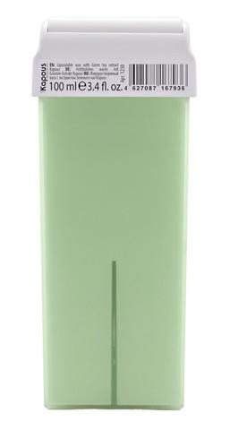 Жирорастворимый воск с экстрактом Зеленого чая, 100 мл в картридже Kapous
