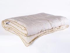 Одеяло пуховое кассетное всесезонное 200х220 Медовый поцелуй