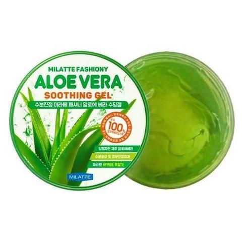 Milatte Fashiony Aloe Vera Soothing Gel гель с 100% соком алоэ