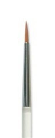 MEHRON Кисть для аквагрима Paradise Fine Round Brush (Тонкая круглая)