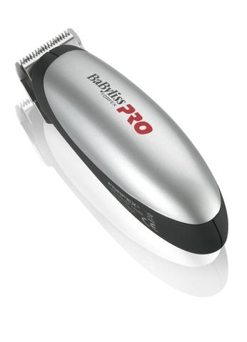 Триммер окантовочный BaByliss Pro, 0,4 мм, (от 1 батарейки AA), серебристый