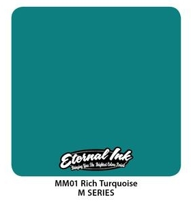 "Краска Eternal ""Rich Turquoise"" для татуировки 1/2 унции - 15 мл"