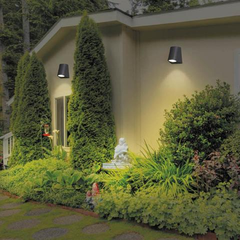 Уличный настенный светодиодный светильник 358295 серии OPAL