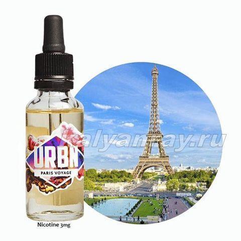 Жидкость URBN - PARIS VOYAGE 3 мг никотина