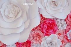Цветы из бумаги (бумажный декор)