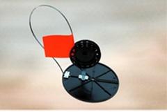 ЖЕРЛИЦА оснащенная с большой кат.d=90мм, диаметр 180мм, РБ