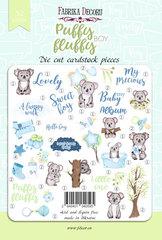 Набор высечек коллекция Puffy Fluffy Boy 52 шт