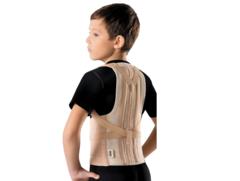 Корректор осанки с 2 металлическими, моделируемыми ребрами жесткости детский Orto