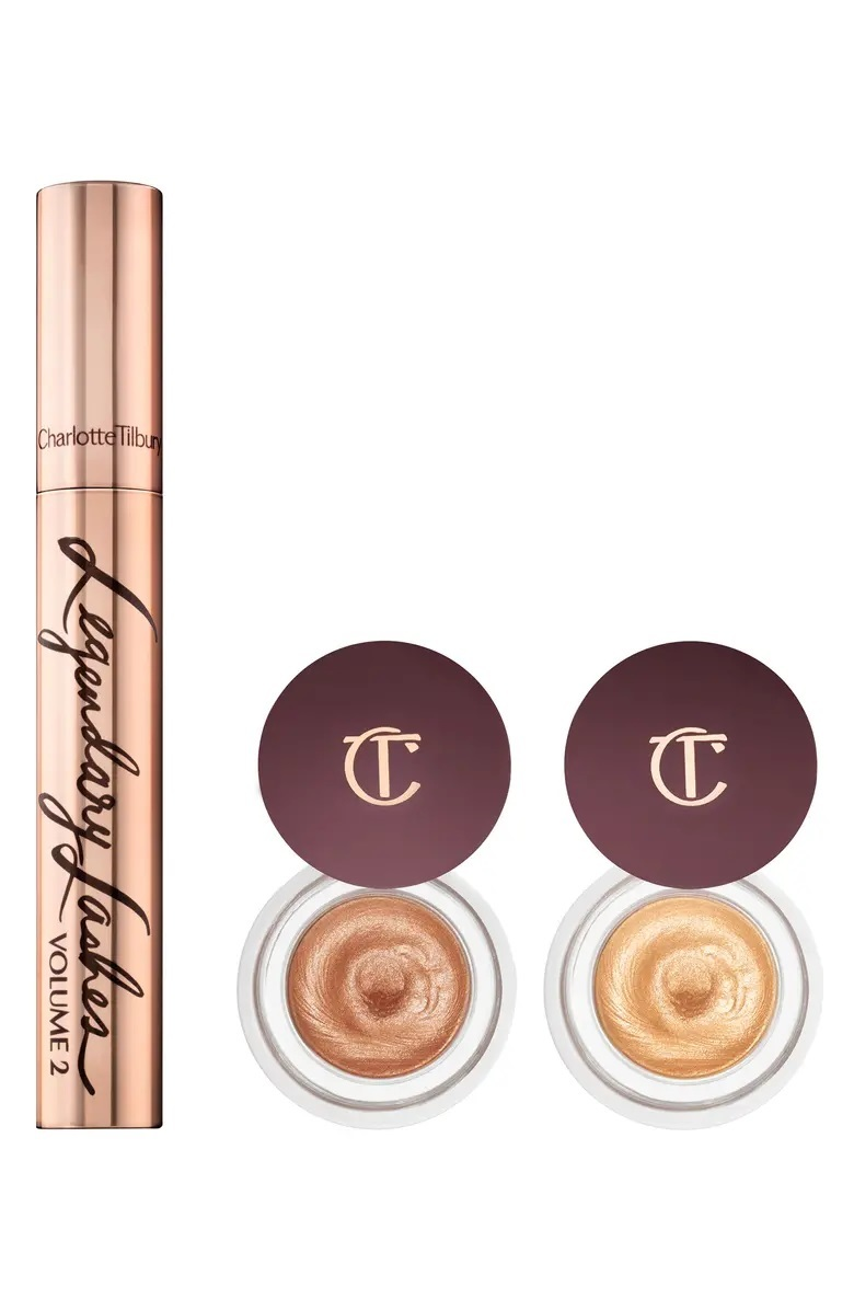 Набор Charlotte Tilbury Georgeous, Glowing eye secrets