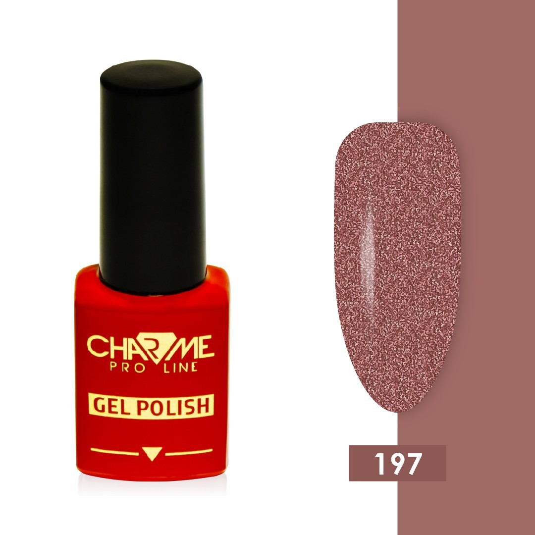 Гель-лак 197 - сливочный крем Charme 10 мл