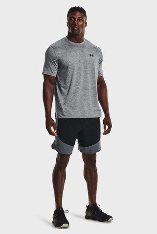 Мужские черные шорты UA HIIT Woven Colorblock Sts Under Armour