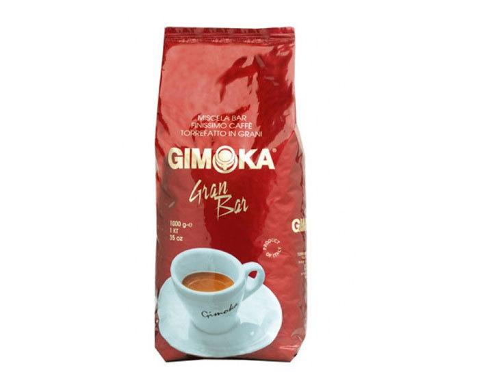 Кофе в зернах Gimoka Rossa Gran Bar, 1 кг (Гимока)