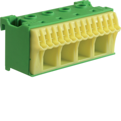 Блок PE-клемм,18 клеммных выходов