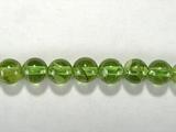 Бусина из перидота, шар гладкий 5 мм