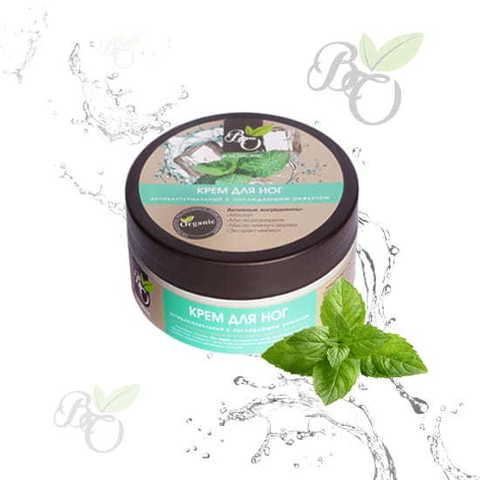 Натуральный крем для ног «Антибактериальный», Bliss organic 150 мл