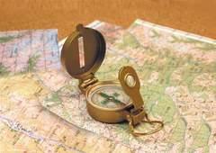 Компас металлический AceCamp Metal Compass