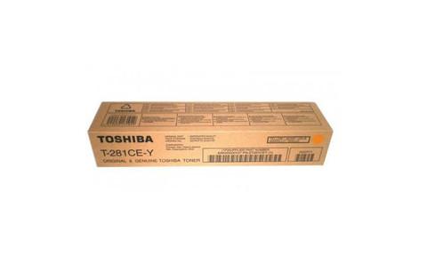 Оригинальный тонер-картридж Toshiba T-281C-EY 6AK00000107/6AG00000843 желтый