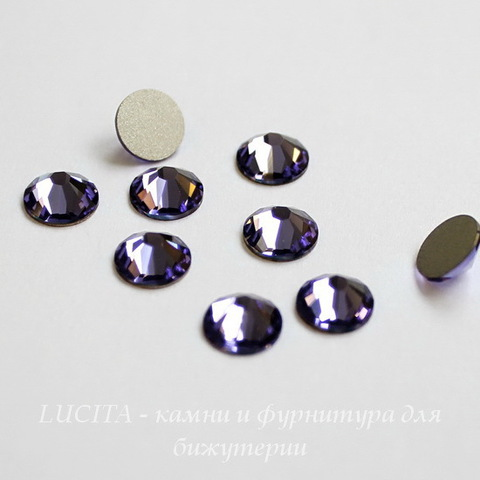 2028/2058 Стразы Сваровски холодной фиксации Tanzanite ss30 (6,32-6,5 мм) ()