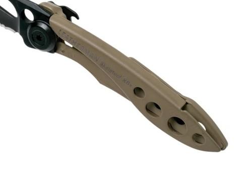 Складной нож Leatherman Skeletool KBX Coyote (832615) | Multitool-Leatherman.Ru