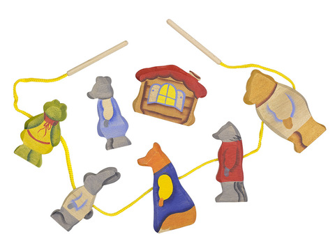 Теремок шнуровка
