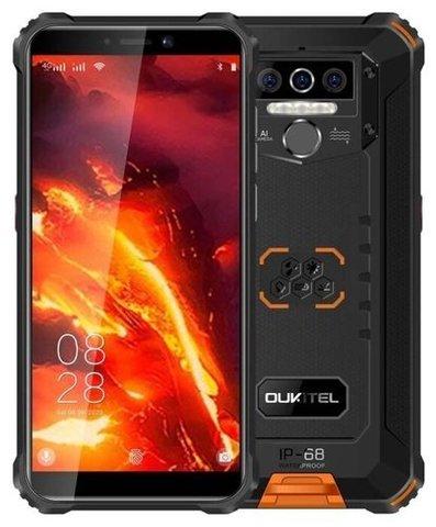 Смартфон OUKITEL WP5 Pro, черный/оранжевый