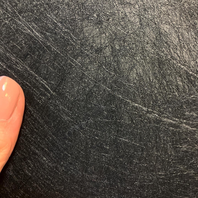 Бумага Twist черная с волокнами