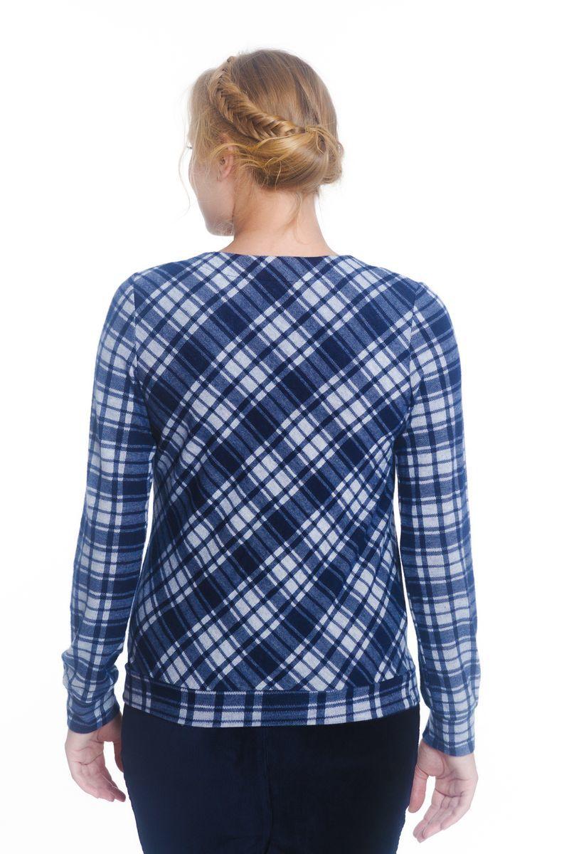 Джемпер для беременных 01753 синий