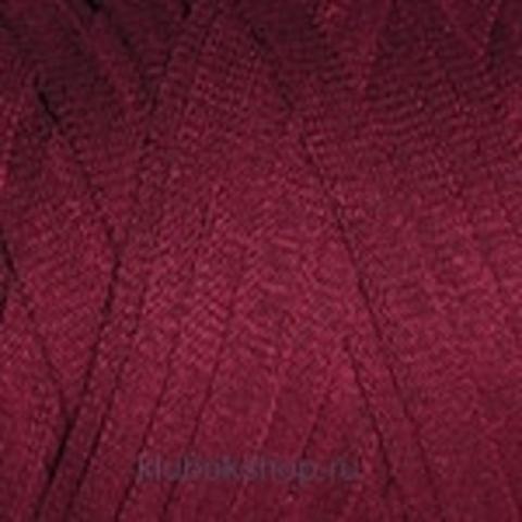 Ленточная пряжа YarnArt Ribbon цвет 781 Бордовый - купить в интернет-магазине недорого klubokshop.ru