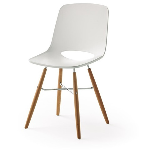 Дизайнерский стул DUPEN WASOSKY PC-450 белый