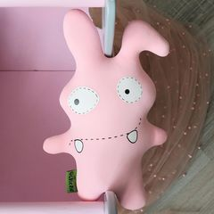 Подушка-игрушка антистресс Gekoko «Монстрик розовый» 3