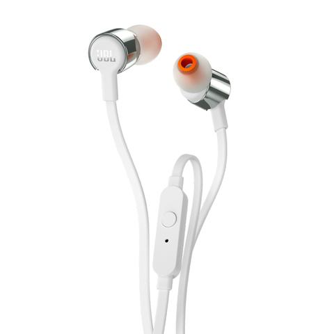 JBL / Проводные наушники с микрофоном T210 | серый