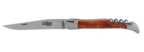 Нож складной 2 предмета (лезвие+штопор), Forge de Laguiole 22111 IN BR