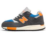 Кроссовки Мужские New Balance 998 Grey Orange Blue