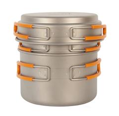 Набор посуды Novaya Zemlya Titanium Pot Set TS-014