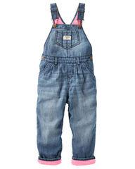 OSH KOSH Комбинезон джинсовый внутри флис БН8
