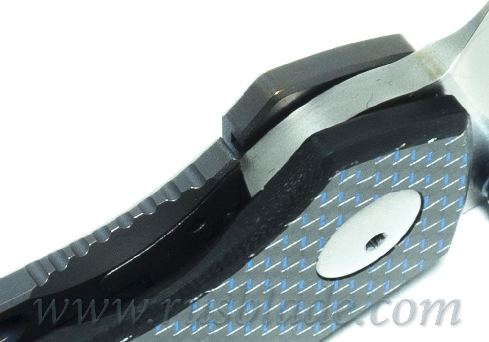 CKF MKAD Blue Farko knife (M390, Ti, bearings) - фотография