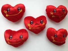 Сердце, мягкая игрушка, декоративная, 1 шт.