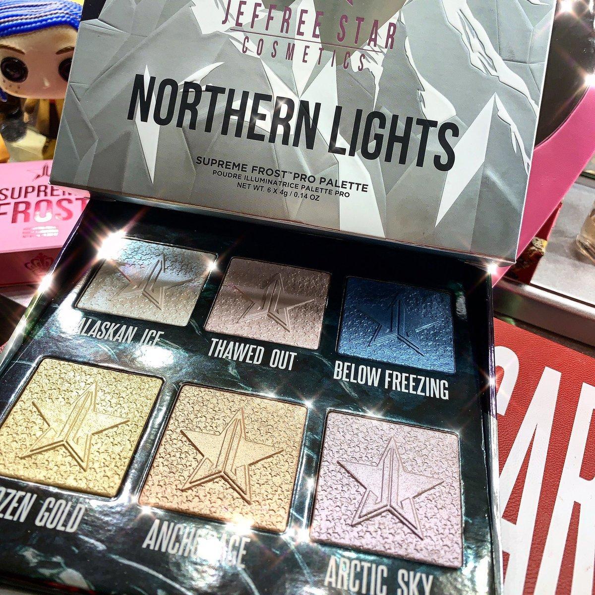 Jeffree Star Supreme Frost Pro Palette NORTHERN LIGHTS
