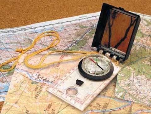 Планшетный компас AceCamp