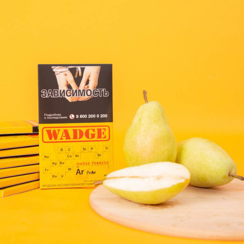 Табак Wadge Titanium Pear 100 г