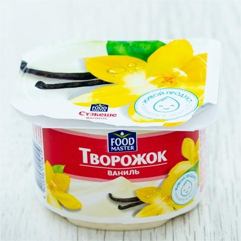 Творожок СУЗБЕШЕ Ваниль 4% 100 гр пл/ст Food Master КАЗАХСТАН