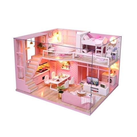 Румбокс. Интерьерный конструктор Розовая безмятежность, L026