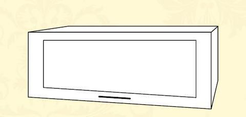 ШВГС 600 Шкаф верхний горизонтальный стекло