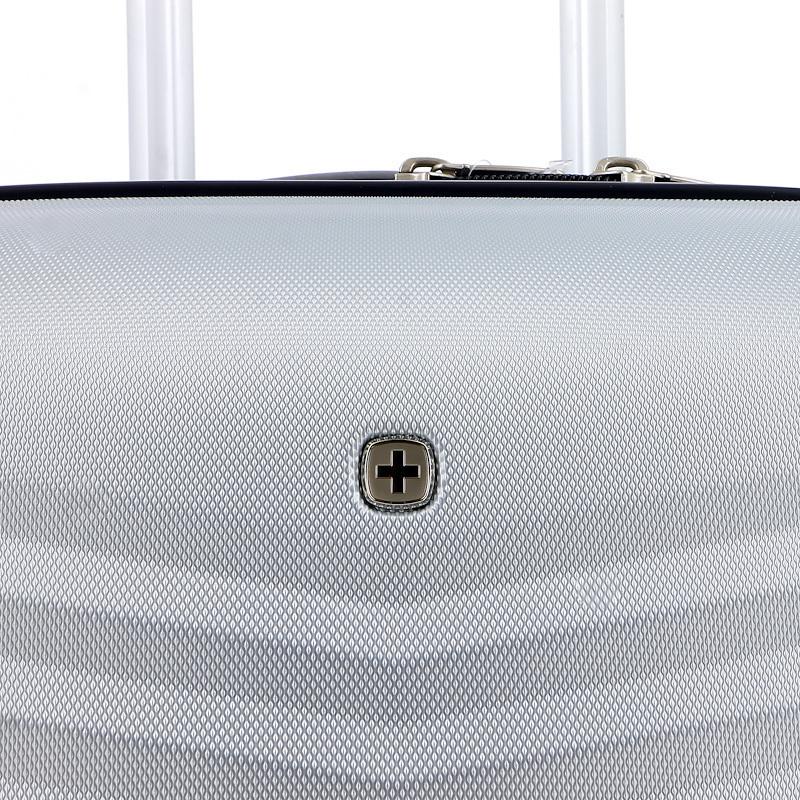 Чемодан большой WENGER FRIBOURG, цвет серебристый, 46x30x79 см, 97 л (SW32300477) | Wenger-Victorinox.Ru