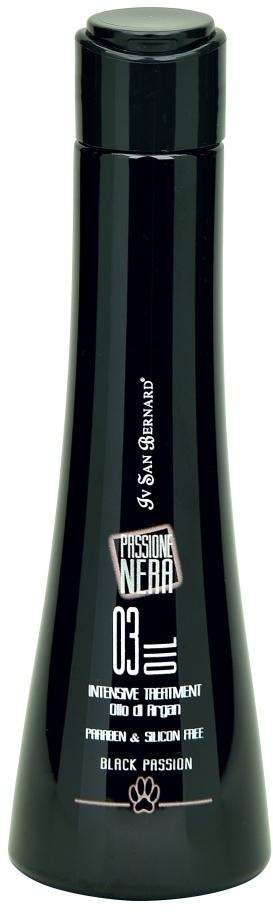 Груминг, уход за шерстью Аргановое масло для интенсивного восстановления и лечение для всех типов шерсти ISB Black Passion 03 NOLIOARGAN.jpg