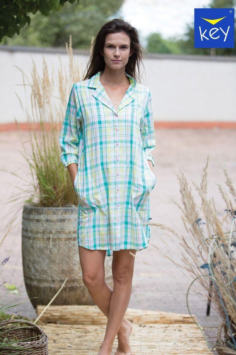 Рубашка/Сорочка женская KEY LND 453 A21