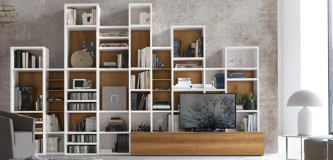 Книжный шкаф A086, Италия