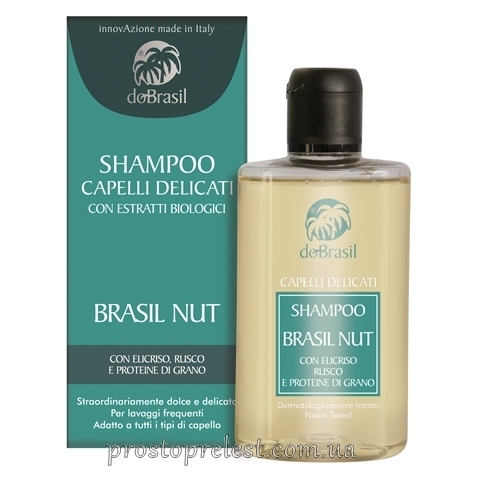Dobrasil shampoo capelli delicati con estratti biologici - Деликатный шампунь для волос с растительными Віо экстрактами